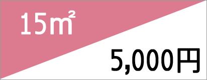 15m2 5,000円
