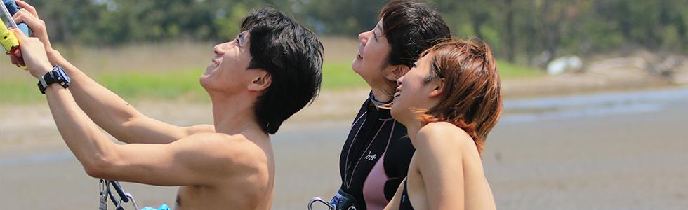 カイトサーフィンスクールはMKSURF